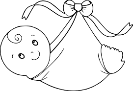swaddling clothes baby boy coloring page wecoloringpage