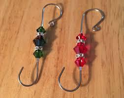 handmade ornament hooks 1 black ornament hooks