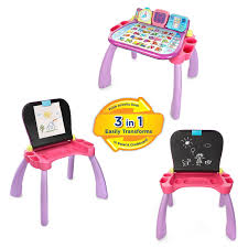 amazon com vtech touch and learn activity desk purple online