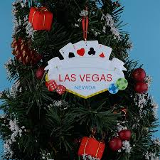 las vegas resin personalized occupation ornaments