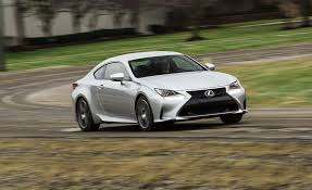 lexus rc 300 f sport review 2017 lexus rc in depth model review car and driver