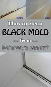 Clear Bathroom Sealant Best 25 Bathroom Sealants Ideas On Pinterest Clean Black Mold