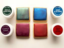 trucolor natural food coloring painting on royal icingsweetambs