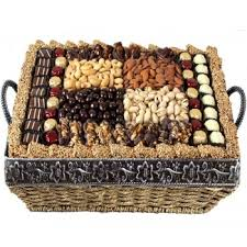 bereavement gift baskets gourmet signature wicker basket large shiva sympathy
