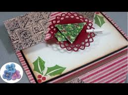 christmas cards 2015 double fold easy to make xmas greetings