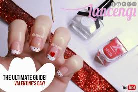 nail art for valentine u0027s day cute nail polish designs u2013 the