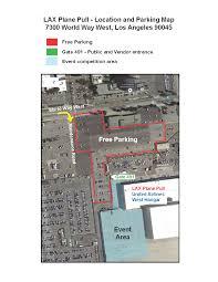 Lax Gate Map Parking Directions U2013 Lax Plane Pull
