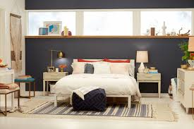 Navy Accent Wall by Accent Walls In Girls Bedroom Wall Mounted Platform Master Bed