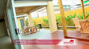 simmons homes floor plans simonds homes cambridge youtube