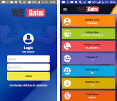 login services apk wegain india multi service app apk version 1 4