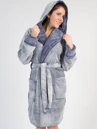 robe de chambre longue longue robe de chambre au fini moiré en molleton avec capuchon