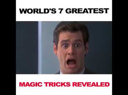 Magic Trick Meme - seven 7 greatest magic tricks revealed tameme artystyx