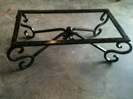 decorating nice industrial wrought iron coffee table mango wood
