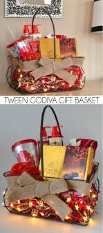 luxury gift baskets tween luxury gift basket with godiva chocolates a