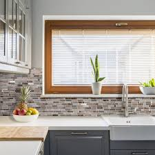 Stick On Kitchen Backsplash Peel And Stick Kitchen Backsplash Smart Tiles