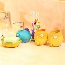 Yellow Bathroom Accessories by 123 Best Home Decor Bathroom Vanity Accessories Images On