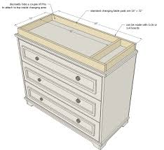Dresser Changing Tables by Ana White Build A Fillman Dresser Or Changing Table Free And