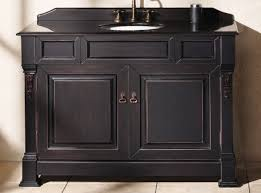 Bathroom Vanity Cabinet Without Top Stunning Black Bathroom Vanity Without Top Also Undermount White