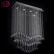 Glass Chandeliers For Dining Room Chandelier Rectangular Dining Room Light Rectangular Pendant