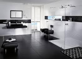 Black And White Bathroom Ideas Black And White Bathroom Border Tiles Black White Glossy Finished