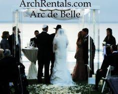 wedding arches los angeles arc de modern acrylic wedding chuppah rentals available in