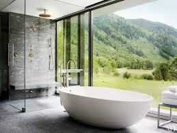 shower stunning stand alone jetted tub bath shower exciting