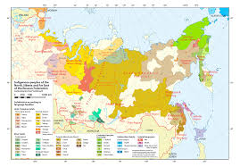 Russian Map Small Indigenous Groups A Growing Problem For Moscow