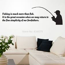 decorative stickers for mirrors picture more detailed picture fishing sport occasion silhouette wall art sticker decal diy home decoration decor wall mural removable room