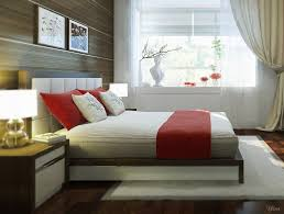 A Passionate Red Bedroom Ideas All Home Decorations - Red and cream bedroom designs