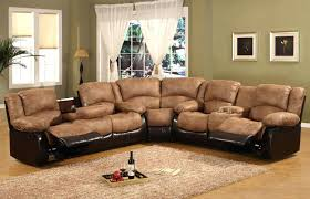 recliners outstanding brown recliner couch for house furniture
