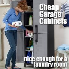 big foot garage cabinets cheap garage cabinets give big bang for the buck