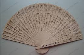 sandalwood fan personalised sandalwood fan for wedding event free postage au no