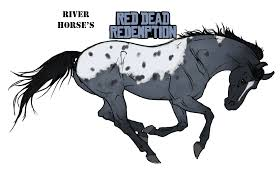 mustang horse drawing river horse u0027s red dead redemption by mountainview studios on