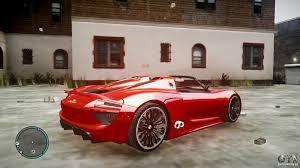 porsche concept 918 spyder porsche 918 spyder concept for gta 4