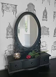 vanity table with mirror and drawers by designs ibiza 7 drawer