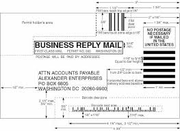 business reply mail template usps business reply mail template