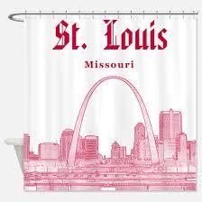 Curtains St Louis St Louis Missouri Shower Curtains Cafepress
