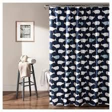 Target Shower Curtain Liner Whale Shower Curtain Navy Lush Décor Target
