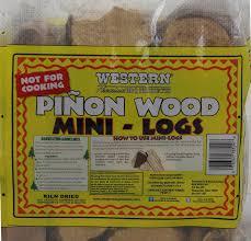amazon com western pinon mini logs for fire pits sports