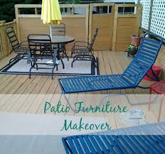 real u0027s realm updating patio furniture with paint
