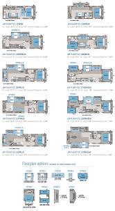 travel trailer floor plans 2016 eagle luxury travel trailer