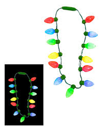 christmas light necklace christmas christmas necklace lights blinking for children with