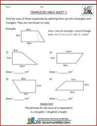 area sheet 6 a math area worksheet on the area of compound