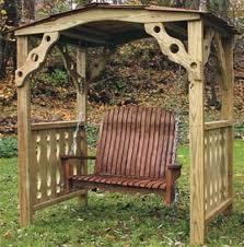 arbor swing plans child s arbor swing woodworking plan