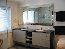 bathroom wall mirrors frameless large beveled wall mirror large beveled bathroom mirrors