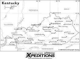 kentucky map bardstown kentucky winery vineyard locator directory ky