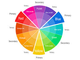 what colors make purple and violet colors