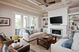 Stacked Stone Around Fireplace by Furniture Around A Fireplace Round Designs