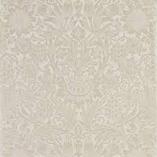 William Morris Wallpaper by William Morris U0026 Co Wallpaper Pure Sunflower Pearl Ivory