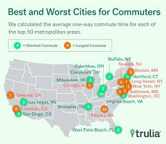 Average Rent In Nj Best And Worst Cities For Commuting Trulia U0027s Blog